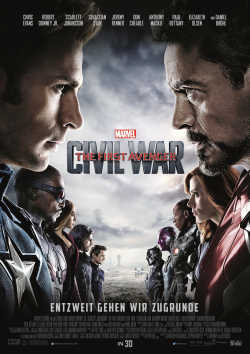 The First Avenger: Civil War - Plakat zum Film