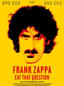 Frank Zappa - Eat That Question - Plakat zum Film