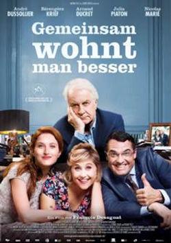Gemeinsam wohnt man besser - Plakat zum Film