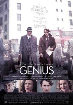 Genius - Die tausend Seiten einer Freundschaft - Plakat zum Film