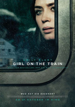 Girl On The Train - Plakat zum Film