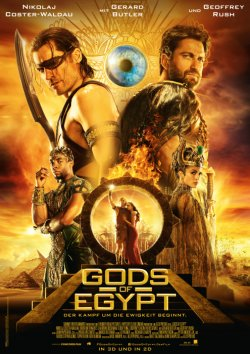 Gods Of Egypt - Plakat zum Film
