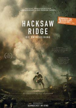 Hacksaw Ridge - Plakat zum Film