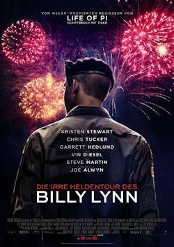 Die irre Heldentour des Billy Lynn - Plakat zum Film