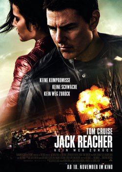 Jack Reacher: Kein Weg zurück - Plakat zum Film