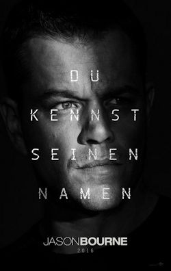 Jason Bourne - Plakat zum Film