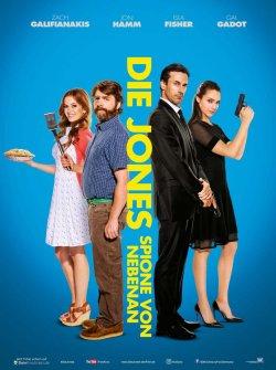 Die Jones - Spione von nebenan - Plakat zum Film