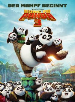 Kung Fu Panda 3 - Plakat zum Film