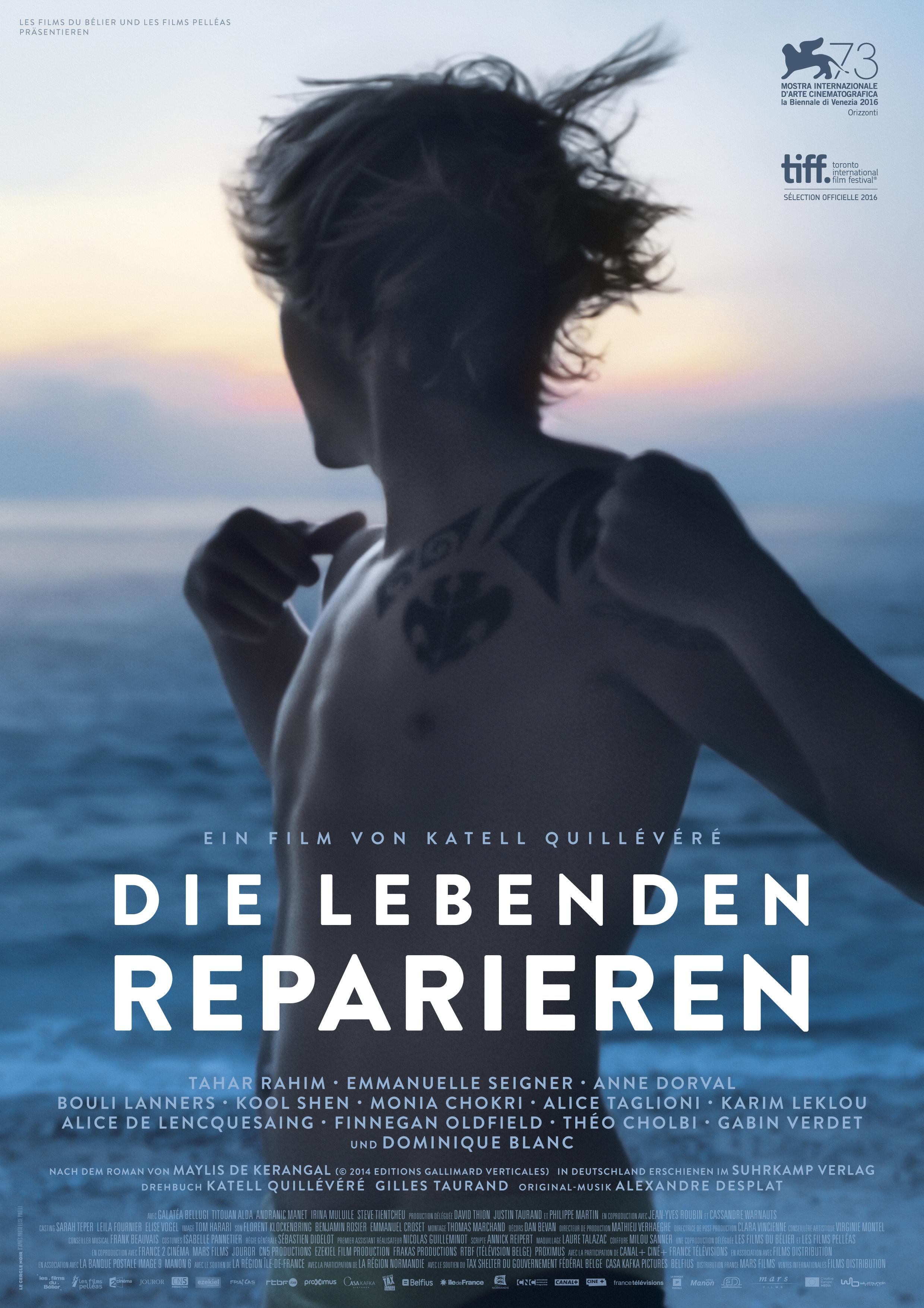 Die Lebenden reparieren - Plakat zum Film