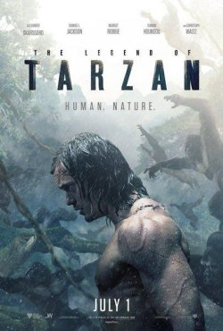 The Legend Of Tarzan - Plakat zum Film