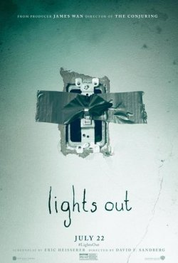 Lights Out - Plakat zum Film
