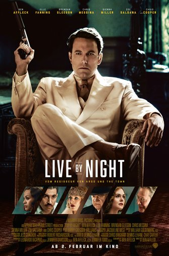 Live By Night - Plakat zum Film