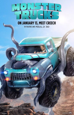 Monster Trucks - Plakat zum Film