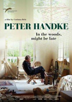 Peter Handke - Bin im Wald. Kann sein, dass ich mich verspäte. - Plakat zum Film