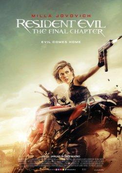 Resident Evil: The Final Chapter - Plakat zum Film
