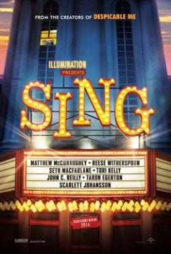 Sing - Plakat zum Film