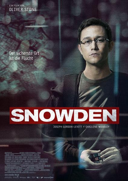 Snowden - Plakat zum Film