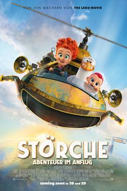 Störche - Abenteuer im Anflug - Plakat zum Film