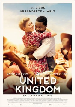 A United Kingdom - Plakat zum Film