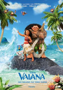 Vaiana - Plakat zum Film