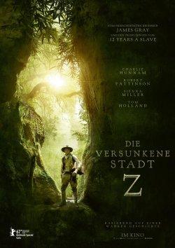 Die versunkene Stadt Z - Plakat zum Film