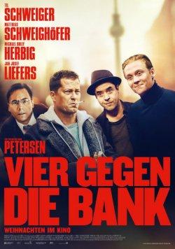 Vier gegen die Bank - Plakat zum Film