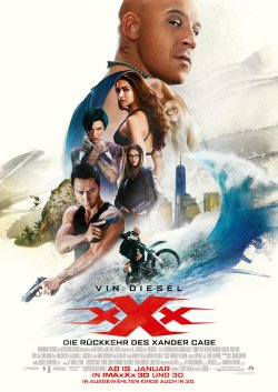 xXx: The Return Of Xander Cage - Plakat zum Film