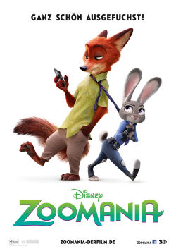 Zoomania - Plakat zum Film