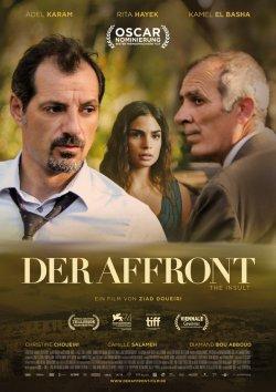 Der Affront - Plakat zum Film