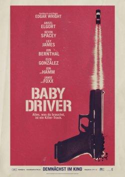 Baby Driver - Plakat zum Film