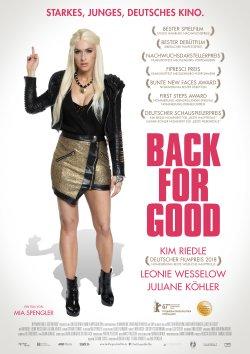 Back For Good - Plakat zum Film
