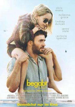 Begabt - Die Gleichung eines Lebens - Plakat zum Film