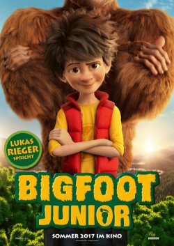 Bigfoot Junior - Plakat zum Film