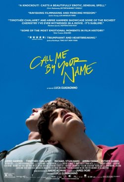 Call Me By Your Name - Plakat zum Film