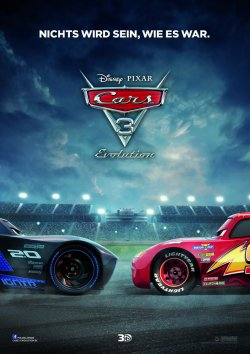 Cars 3 - Evolution - Plakat zum Film