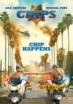 CHiPs - Plakat zum Film