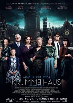 Das krumme Haus - Plakat zum Film