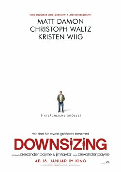 Downsizing - Plakat zum Film