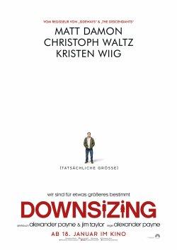 Downsizing - Plakat zum Film