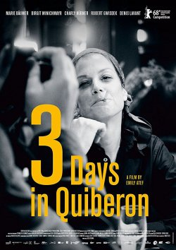 Drei Tage in Quiberon - Plakat zum Film