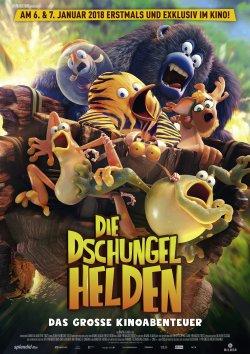 Die Dschungelhelden - Das große Kinoabenteuer - Plakat zum Film