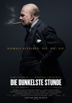 Die dunkelste Stunde - Plakat zum Film