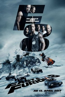 Fast And Furious 8 - Plakat zum Film