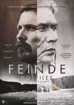 Feinde - Hostiles - Plakat zum Film