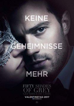 Fifty Shades Of Grey - Gefährliche Liebe - Plakat zum Film