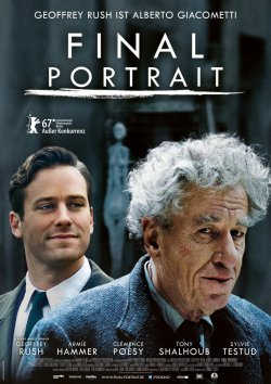 Final Portrait - Plakat zum Film