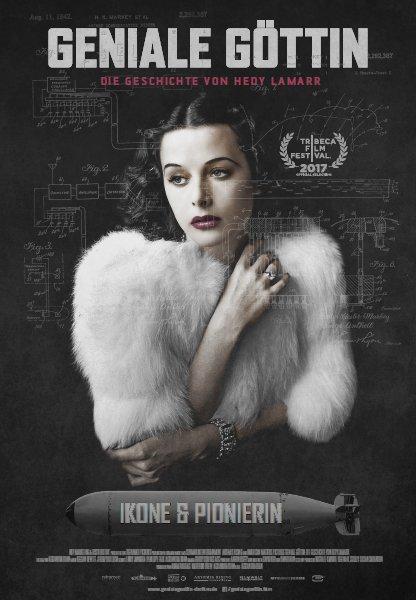 Geniale Göttin - Die Geschichte von Hedy Lamarr - Plakat zum Film