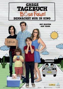 Gregs Tagebuch - Böse Falle! - Plakat zum Film
