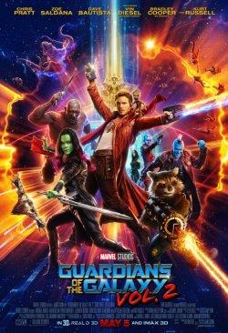 Guardians Of The Galaxy Vol. 2 - Plakat zum Film