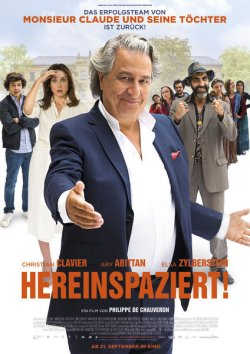 Hereinspaziert! - Plakat zum Film